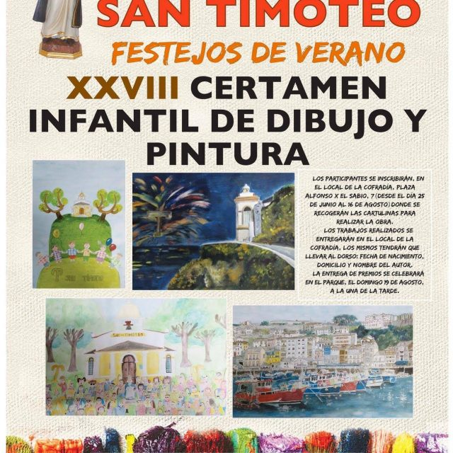XXVIII Certamen infantil de dibujo y pintura