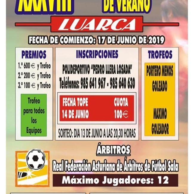 XXXVIII Torneo Fútbol Sala de Verano